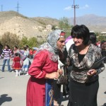 Armenian wine feast in Areni village