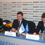 Пресс-конференция «ВТБ – 5 лет в Армении. История успеха»