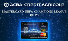 ACBA Credit Agricole Bank announces winners of UEFA draw