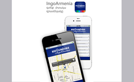 INGO Armenia customers to access services via IPhone