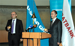 Araratbank's currency bonds listed at NASDAQ OMX Armenia first time