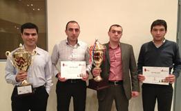 ACBA-CREDIT AGRICOLE BANK wins amateur chess championship