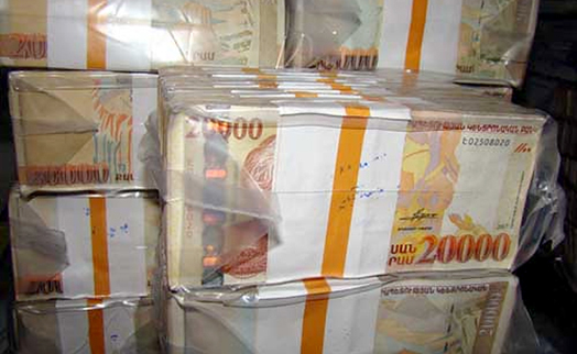 Armenian banks' overdue loans 2.8% up in December 2014 from previous month