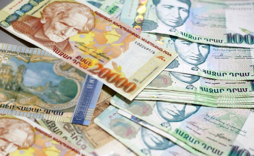 Median salary in Armenia's financial sector shrinks 10.5% to AMD 526,800 in December