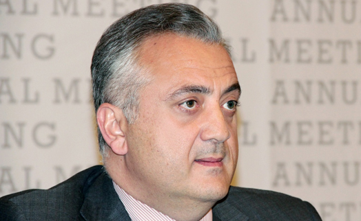 Armenian central bank chairman off to Germany