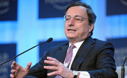 ECB president Mario Draghi named as 'governor of the year'