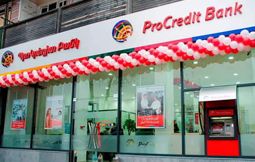 Procredit bank's team to work for Inecobank