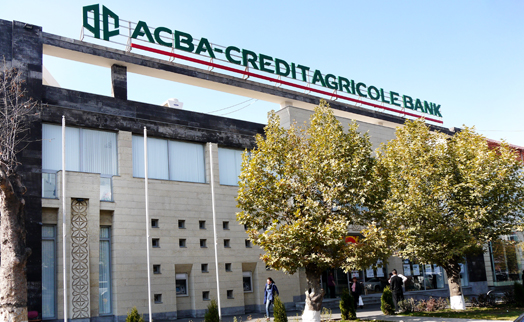 ACBA -CREDIT AGRICOLE BANK'S loan portfolio grows by 10 percent from january 2014 to 178 billion drams