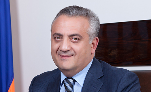 Armenian CB chairman reelected as board chairman of CIS Interstate Bank