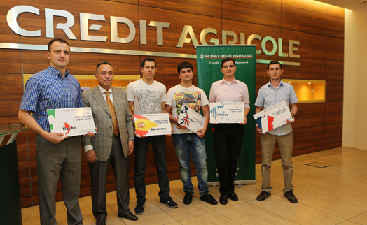 Winners of ARCA - CREDIT AGRICOLE BANK raffle receive awarded free trips to five European cities