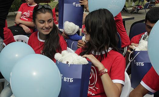 Лагерный сезон стартовал в степанаванском пансионате «Элен» при поддержке Банка ВТБ (Армения)