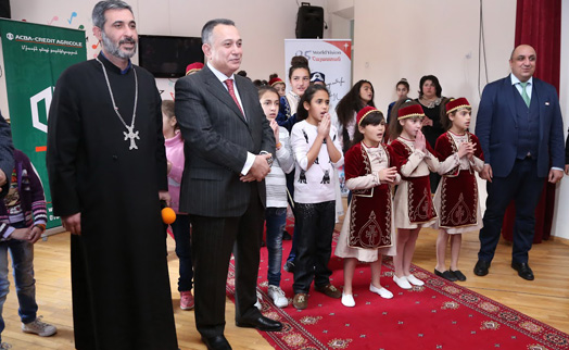 Gavar Orphan Home gets a training center from ACBA-CREDIT AGRICOLE BANK, Hayastan All-Armenian Fund and World Vision Armenia