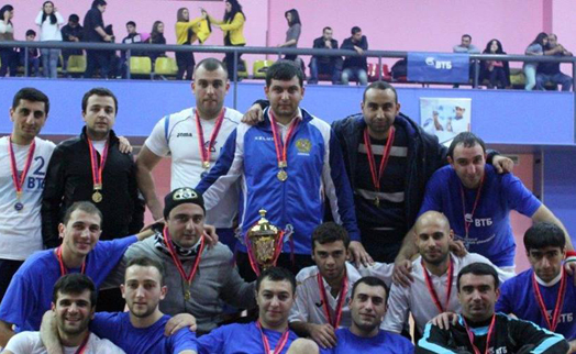Winners determined in Bank VTB (Armenia) mini-football tournament finale