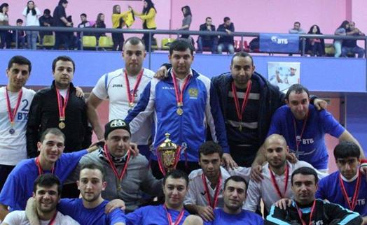 Финал турнира по мини-футболу «Кубок Банка ВТБ (Армения)» прошел среди команд филиалов и подразделений банка