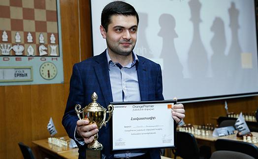 Сотрудник Банка ВТБ (Армения) стал победитель шахматного турнира Orange Premier