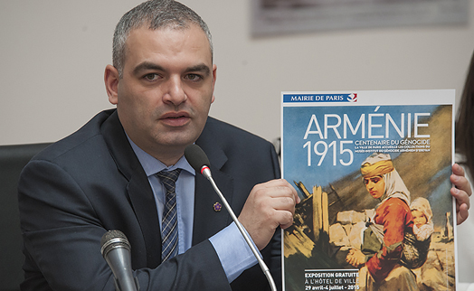 ACBA-CREDIT AGRICOLE BANK supports conduct of Armenian genocide exhibition in Paris municipality