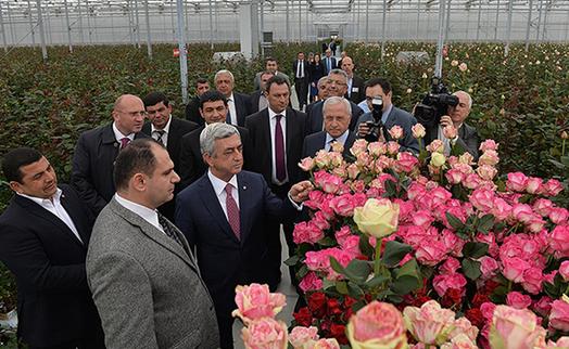 Новый парник компании «Экотомато» открылся при финансовой поддержке Банка ВТБ (Армения)