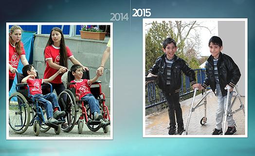 Банк ВТБ (Армения) продолжает поддерживать детей с ограниченными возможностями