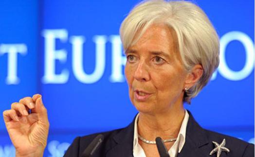 Глава МВФ Кристин Лагард выдвинута на второй срок