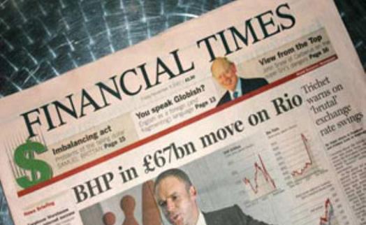 Издательство Pearson подтвердило факт переговоров о продаже Financial Times