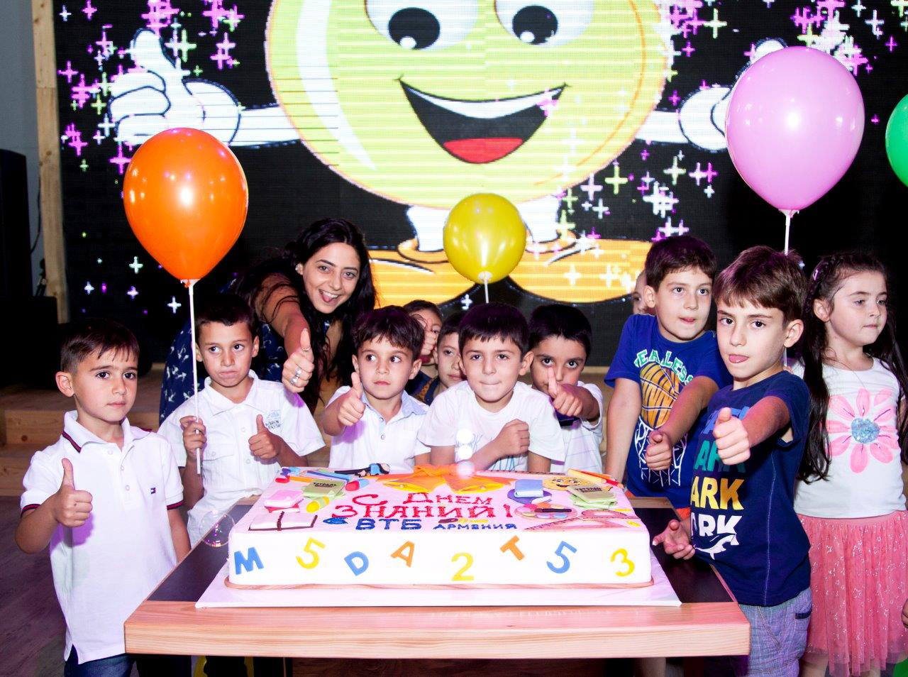 VTB Bank (Armenia) organized festive events for staff children