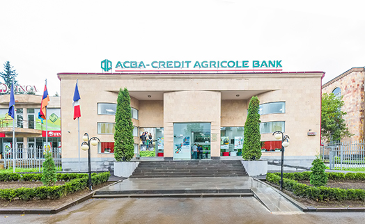 ACBA-CREDIT AGRICOLE BANK re-launches renovated 'Lori' branch in Vanadzor