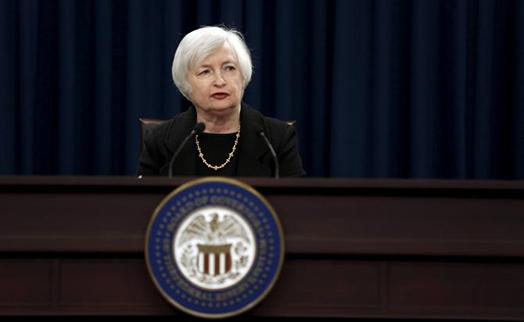 Йеллен опасается неприятных сюрпризов при длительном откладывании повышения ставок ФРС