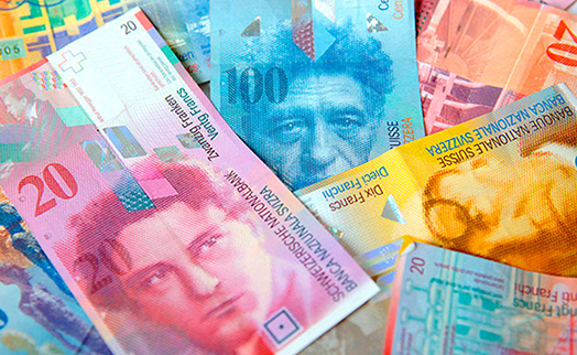 Новые швейцарские франки оказались недолговечными