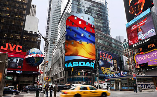 Total trading at NASDAQ OMX Armenia stock exchange in first quarter halves