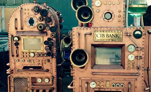 В Венгрии установили псевдо 120-летний банкомат в стиле стимпанк