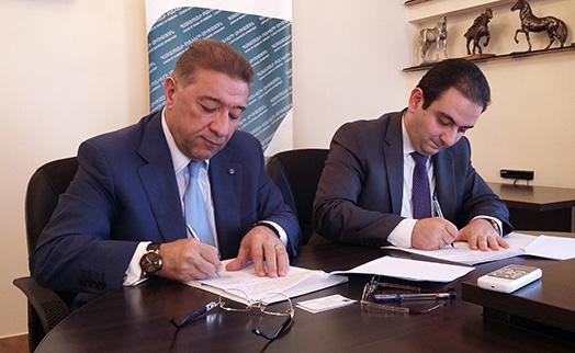 """СБА и """"Экспортное страховое агентство"""" подписали меморандум о сотрудничестве"""