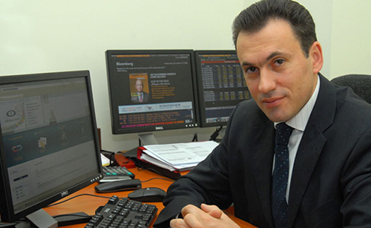 Tigran Davtyan was appointed chief executive officer of Inecobank