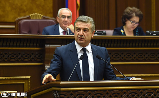 Armenian premier not afraid even of 80% foreign debt