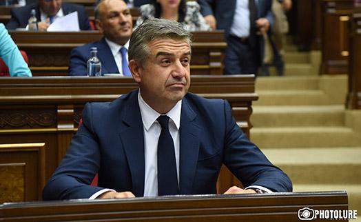 Новый армянский премьер констатировал тяжелое состояние экономики страны