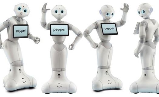 Робот-банкир по имени Pepper посетил штаб-квартиру ING