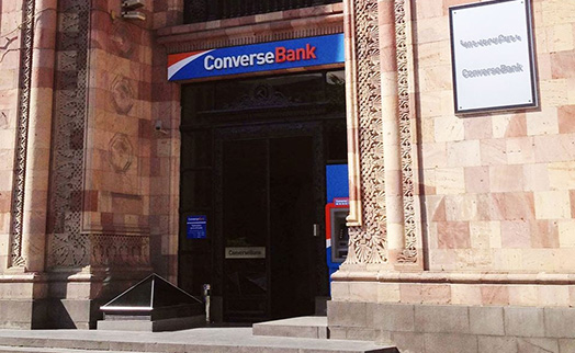 USD -denominated coupon bonds by Converse bank listed on NASDAQ OMX Armenia