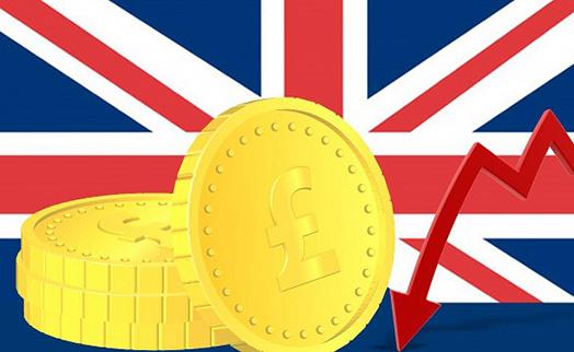 Британский фунт рухнул до минимумов за 20 месяцев
