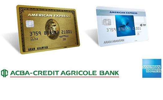 ACBA-CREDIT AGRICOLE BANK to issue contactless American Express cards