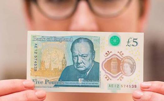 Вегетарианцы требуют от Банка Англии изъять из обращения новые пластиковые 5 фунтов