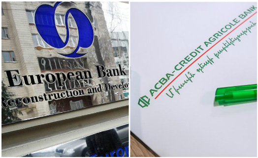 EBRD extends $8-million loan in drams to Armenia's ACBA-CREDIT AGRICOLE BANK