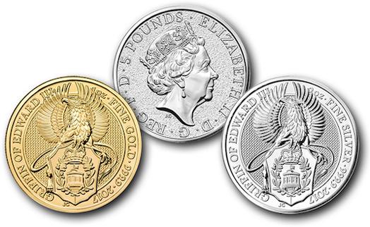 Монетный двор Великобритании начал выпуск монет под названием «Звери Королевы»