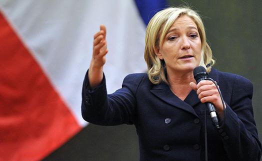 UBS: победа Ле Пен обрушит акции еврозоны на 35%