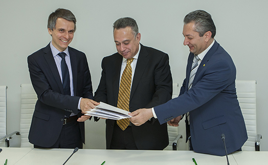 ACBA-CREDIT AGRICOLE BANK to provide targeted loans to Armenian farmers for  acquisition of hailstorm protection units