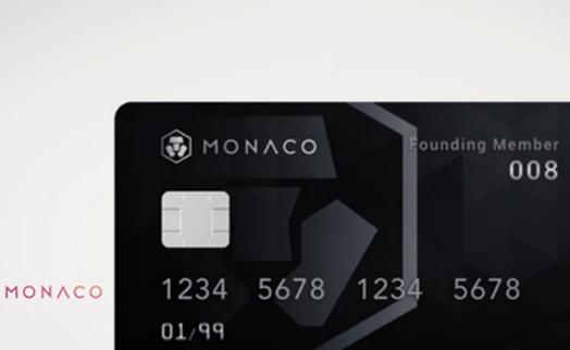Революционная карта Monaco VISA Card, работающая с криптовалютой, выходит на рынок
