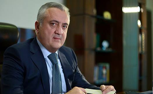 Armenian central bank chairman off to USA for annual meeting of WB and IMF board directors