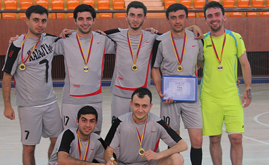 Final matches of VTB Bank (Armenia) mini football cup held Sunday in Yerevan