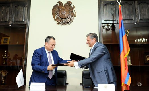 ACBA-CREDIT AGRICOLE BANK begins cooperation with Shirak provincial administration