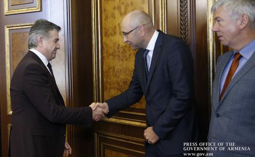 Делегация KfW обсудила с главой Минфина в Армении перспективы развития будущих программ