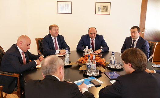 Russian Vnesheconombank to expand cooperation with Armenia