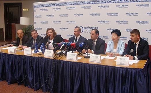 """""""ИНГО Армения"""" выходит на рынок обязательного медицинского страхования и предложит новый он-лайн продукт"""